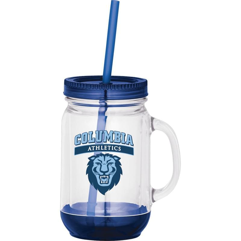 Game Day Double-Wall Mason Jar  20oz