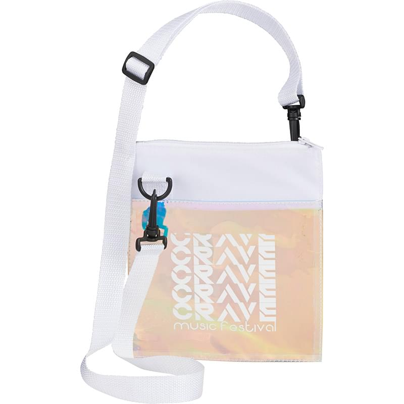 Iridescent Crossbody Tote