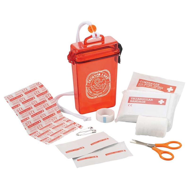 StaySafe 20-Pc Waterproof First Aid Kit