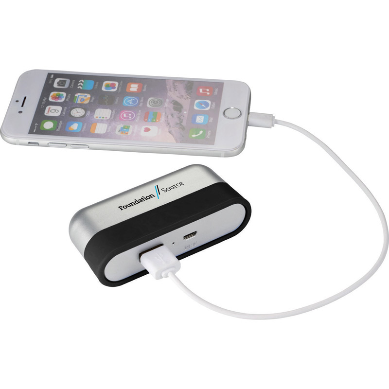 UL Listed Bind Power Bank with Cord Wrap