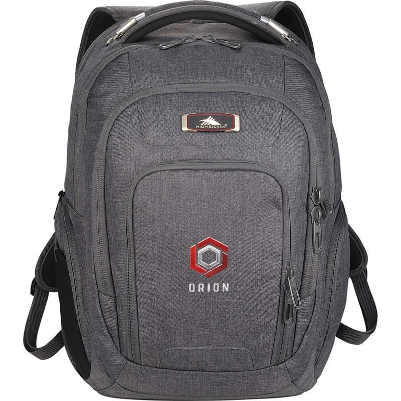"High Sierra 17"" Computer UBT Deluxe Backpack"