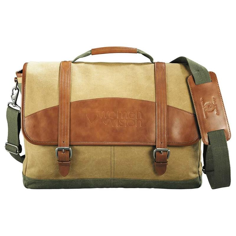 "Cutter& Buck® Legacy Cotton 17"" Computer Messenger"