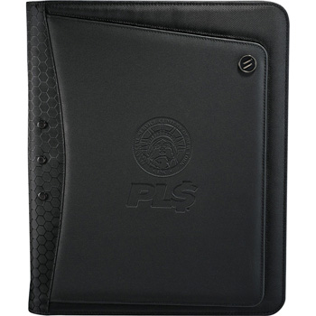 elleven Vapor Zippered Padfolio