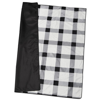 Buffalo Plaid Fleece Picnic Blanket
