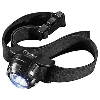 3 LED Headlamp 2 Lithium Battery (Black