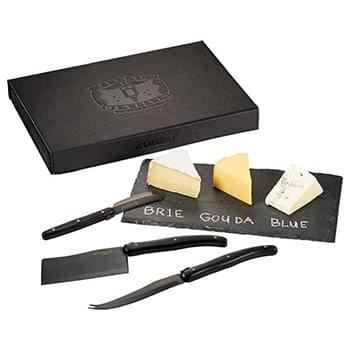 Laguiole Black Cheese & Serving Set