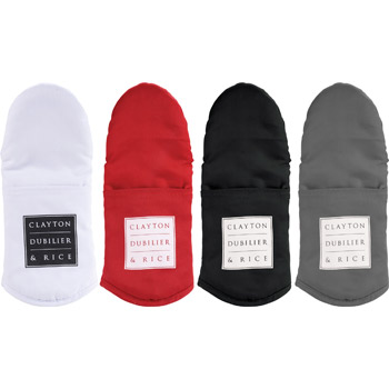 Silicone Grip Cotton Oven Mitt