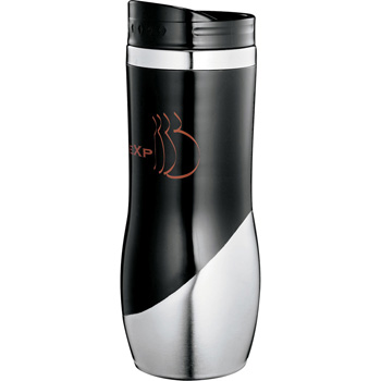 Curved Stainless Tumbler 16oz