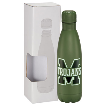 Copper Vacuum Insulated Bottle 17oz With Window Bo