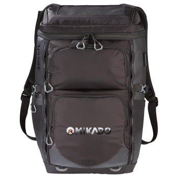 "Elevate Soleil 15"" Laptop Solar Panel Backpack"