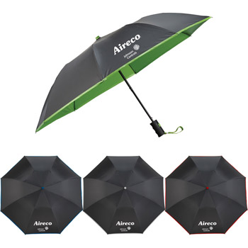 "42"" Auto Open Folding, Color Splash Umbrella"