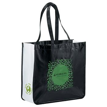 Large Laminated Non-Woven Shopper Tote
