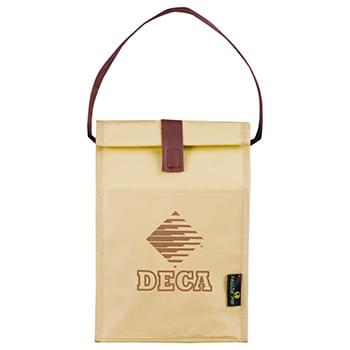 Laminated Non-Woven Brown Baggin' It Lunch Bag