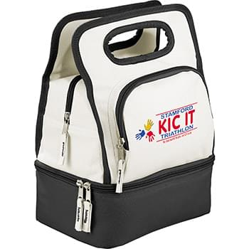 Color Dip Dual Compartment Lunch Cooler