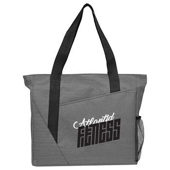 Slash Zippered Meeting Tote