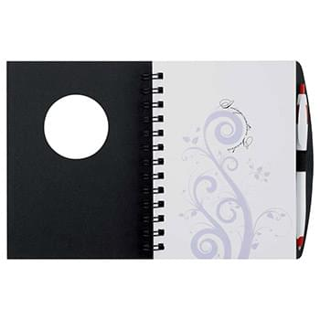 Frame Circle Hardcover Spiral JournalBook™