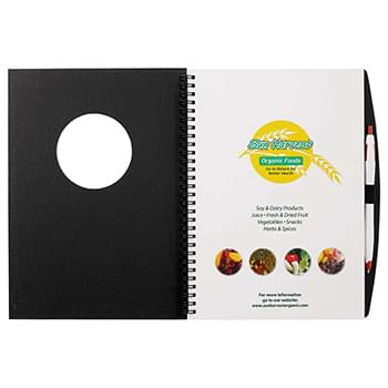 Frame Circle Large Hardcover JournalBook