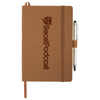 "5.5"" x 8.5"" Heathered Soft Bound JournalBook®"
