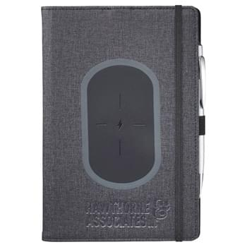 "5.5"" x 8.5"" Walton Wireless Charging JournalBook®"