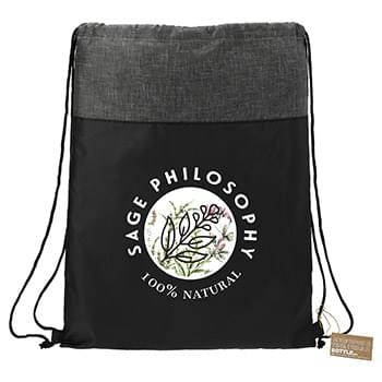 Ash Recycled Drawstring Bag