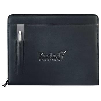 Links Zippered Padfolio