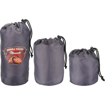 BRIGHTtravels Set of 3 Mini Stuffer Sacks