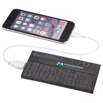 Zeal Fabric 4000 mAh Power Bank