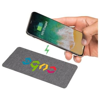 Ultra Thin Fabric Wireless Charging Pad