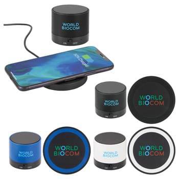 Cosmic Bluetooth Speaker & Wireless Charging Pad