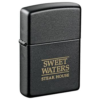 Zippo® Windproof Lighter Black Matte