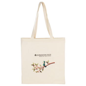 100% 4oz Cotton Canvas Convention Tote