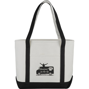 Premium 18oz Cotton Canvas Boat Tote
