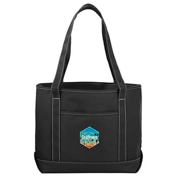 Heavy Weight Color Cotton Boat Tote