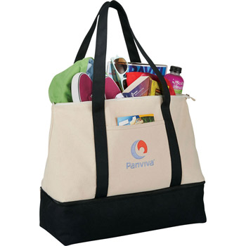 16 oz. Cotton Weekender Tote
