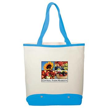 12 oz. Cotton Canvas Sun & Sand Beach Tote