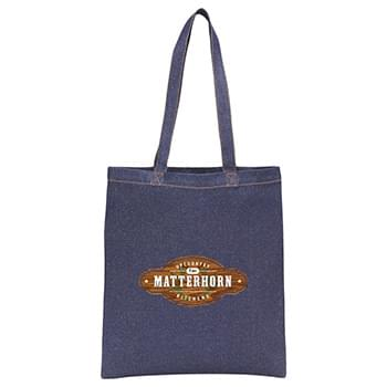 Denim Convention Tote