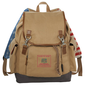 "Field & Co.® Americana 17"" Computer Backpack"