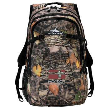 "High Sierra Fallout Camo 17"" Computer Backpack"