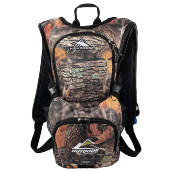 High Sierra Quickshot King's Camo Hydration Pack
