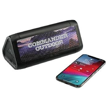 High Sierra Waterproof Speaker w/Wireless Powerban