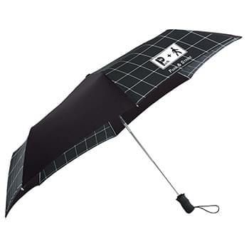 "44"" totes® 3 Section Auto Open Umbrella"