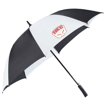 "60"" Totes Auto Open Golf Umbrella, w/SunGuard"
