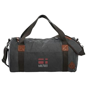 "Alternative® Basic 20"" Cotton Barrel Duffel Bag"