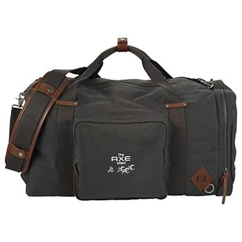 "Alternative® Deluxe 22"" Canvas Weekender Duffel"