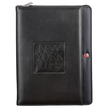Wenger Tech Zippered Padfolio