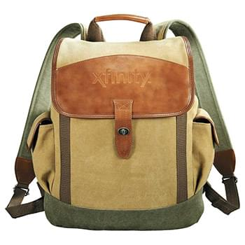 Cutter & Buck® Legacy Cotton Rucksack Backpack