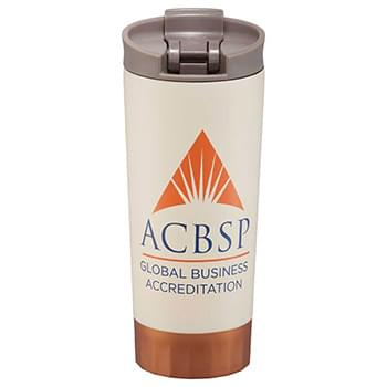 Cutter&Buck Bainbridge Copper Vacuum Tumbler 16 oz