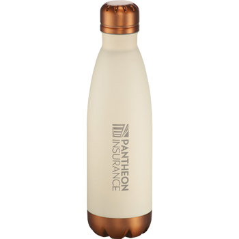 Cutter & Buck® Bainbridge Copper Vacuum Bottle 17oz