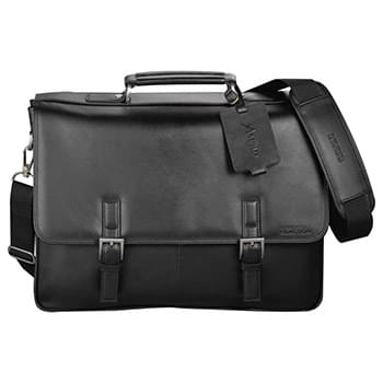 Kenneth Cole® Manhattan Leather Computer Messenger