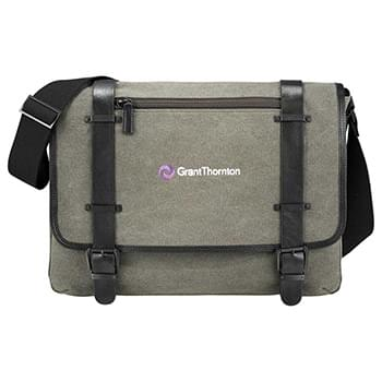"Kenneth Cole® Canvas 17"" Computer Messenger"